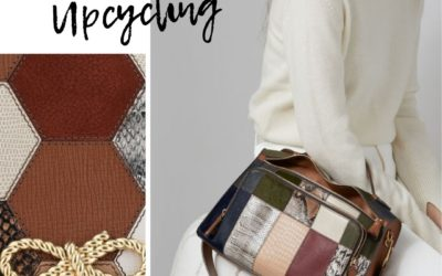 Leather and upcycling: Anya Heindmarch