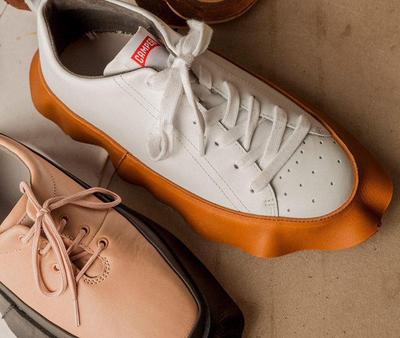 Camper da una segunda vida a sus zapatos creando una colección que apuesta por el upcycling